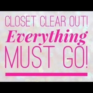 Other - I am moving! Everything in my closet is now $5!